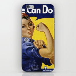 We Can Do It! iPhone Skin