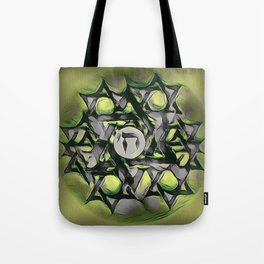 Chai Mandala - Green Tote Bag
