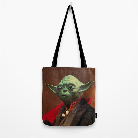Portrait of Master Yoda Tote Bag