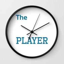 Ultimate Netball Player Athlete Workout T-Shirt Wall Clock