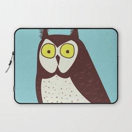 Canada Owl vintage poster Laptop Sleeve