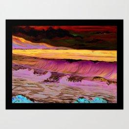 Ocean Waves Print from Original Oil Painting Art Print