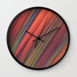 Swept Away Wall Clock