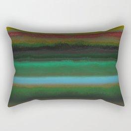 Summer Sunset Landscape Rectangular Pillow