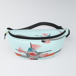Dog Fight Fanny Pack