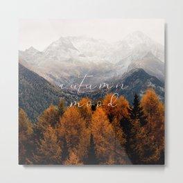 autumn mood Metal Print