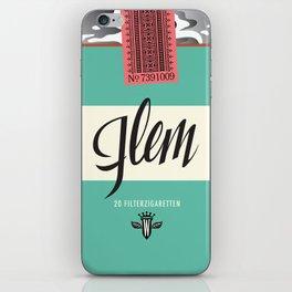 Flem Filterzigaretten iPhone Skin