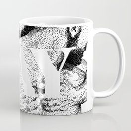 Gay Lettering Typography Coffee Mug