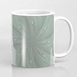Lost in the Laurels Fractal Bloom Coffee Mug
