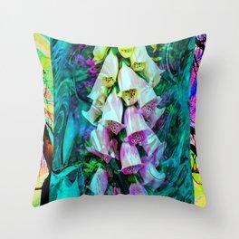 Flowermagic - Power 101 Throw Pillow