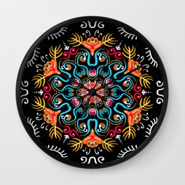 Party On The Patio Wall Clock
