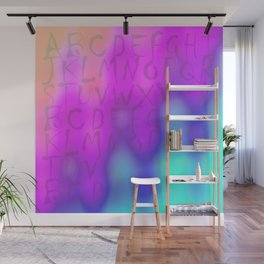 ABC Wave Wall Mural