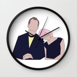 Bill & Scarlett Wall Clock