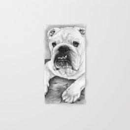 The Bull Dog Hand & Bath Towel