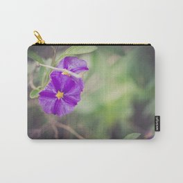 Morning Glory - Floral photography Carry-All Pouch