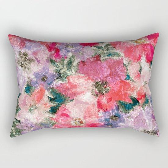 Splendid Flowers 2 Rectangular Pillow