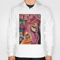 simba Hoodies featuring Captain Simba Sparrow of Pride Rock by Frances May K