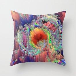 Rock Iron Soul Throw Pillow