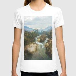 Mountain river Sella T-shirt