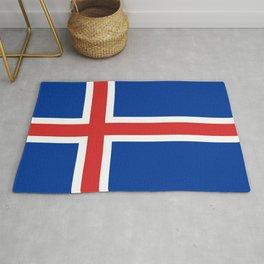 Flag of Iceland - High Quality Image Rug