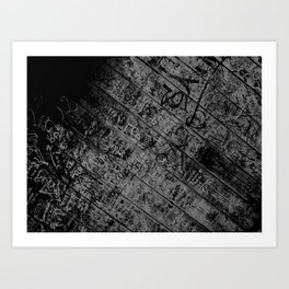 Working with Angles #3 Art Print