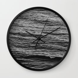Loch Ness without Nessie Wall Clock