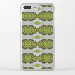NC Geese Clear iPhone Case