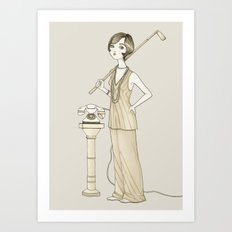 The Great Gatsby - Movies & Outfits Art Print