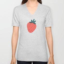 Strawberries Unisex V-Neck