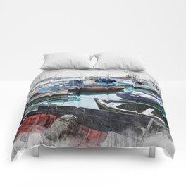 Trapani art 5 Comforters