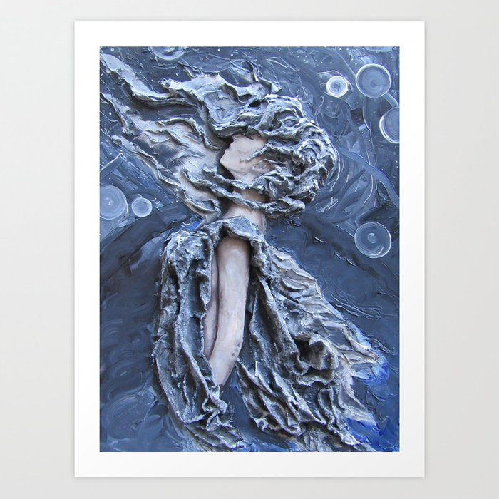 Hither the Wind Art Print