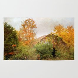 Autumn Covered Barn - 4 Rug