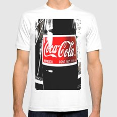 Coca-Cola Nostalgia Mens Fitted Tee White MEDIUM