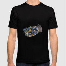 UNTITLED Black MEDIUM Mens Fitted Tee