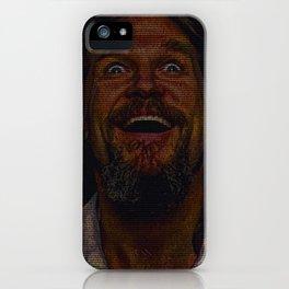 The Dude (Lebowski Screenplay print) iPhone Case