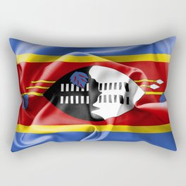 Swaziland Flag Rectangular Pillow
