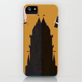 Castle Building iPhone Case