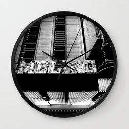 Gamblin Wall Clock