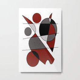 Abstract #124 Metal Print