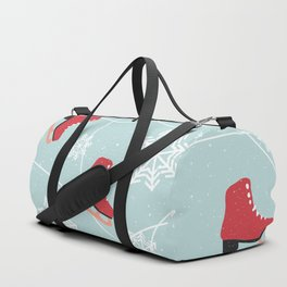 Winter Ice Skating Duffle Bag