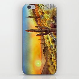 Arizona's Sunset iPhone Skin