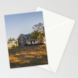 Abandoned Farmstead, North Dakota 4 Stationery Cards