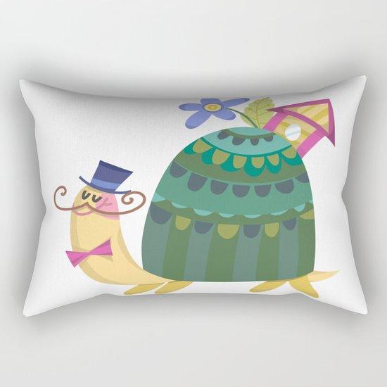 Cute Turtle Rectangular Pillow