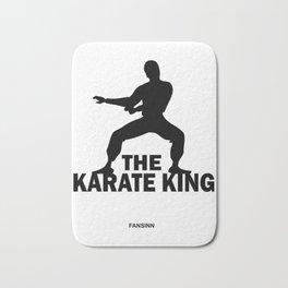 Karate martial arts sports power struggle gift Bath Mat