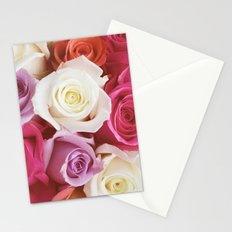 Romantic Rose Stationery Cards