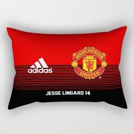 Lingard - Manchester United Home 2018/19 Rectangular Pillow