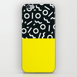 Memphis pattern 51 iPhone Skin