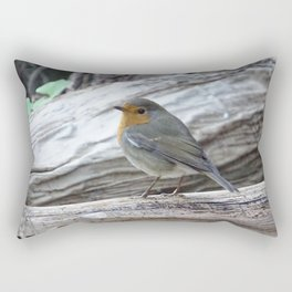 Pisco not sour (Erithacus rubecula) Rectangular Pillow