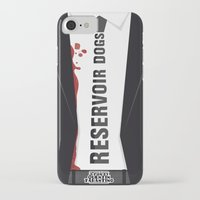 reservoir dogs iPhone & iPod Cases featuring Reservoir Dogs Tribute Poster by stefano manca