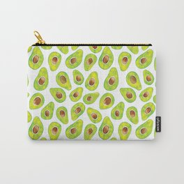 Watercolour Avocados Carry-All Pouch